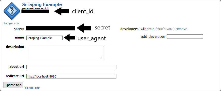 Get Authentication Information